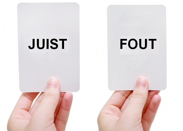 Juist - Fout